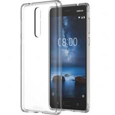 Nokia 8 Hybrid Crystal Case CC-701 - Transparent