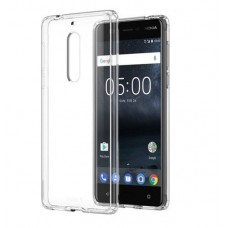 Nokia 5 Hybrid Crystal Case CC-704 - Transparent