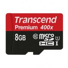 Transcend 8GB micro SD Premium 400x