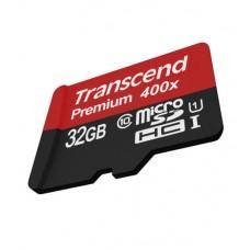 Transcend 32 GB micro SD Premium 400x