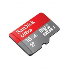 SanDisk 16GB micro SD Ultra with Adapter
