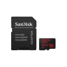 SanDisk 128GB micro SD Ultra with Adapter
