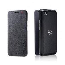 BlackBerry ACC-57201 Leather Flip Case Z30