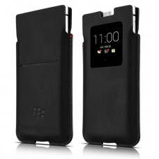 Blackberry PKB100 Leder Smart Pocket for KEYone