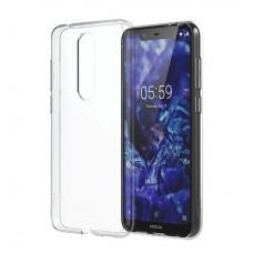 Nokia 5.1 Plus Slim Crystal Case CC-151 - Transparent