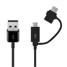 Samsung Combo Cable (USB Typ-C & Micro-USB) EP-DG930