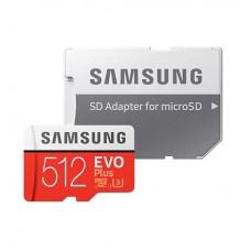 Samsung 512GB micro SD Card EVO+ with Adapter
